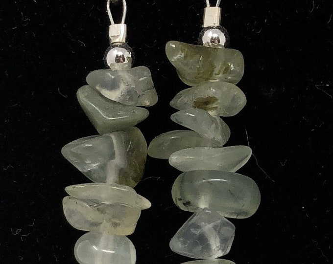 PENDING STONE V /semi-precious/pre-grey stones and sterling silver 9.25/Boho chic casual and elegant