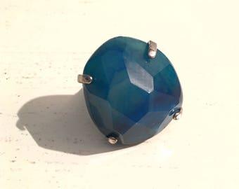 ROBLUE Blue Quartz Ring