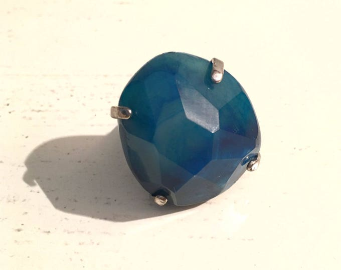 ROBLUE Blue Quartz Ring