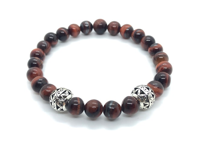 XANNA STONE Bracelet (15) semi-precious/piedras/porthole/Elegant Casual