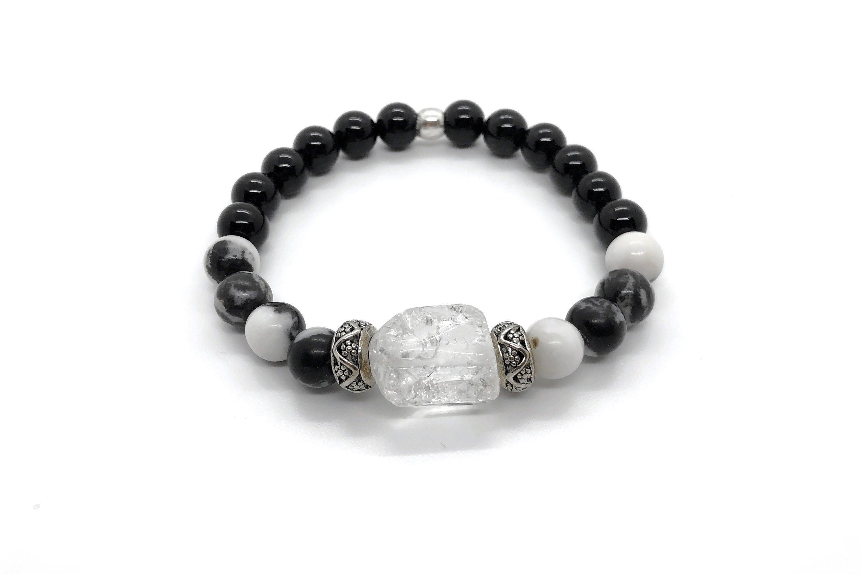 a95d5f6750fb Pulsera NIT I DIA (III)  piedras semipreciosas jaspe cebra