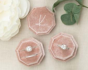 Velvet Ring Boxes