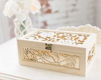 Wedding Keepsake Box Etsy
