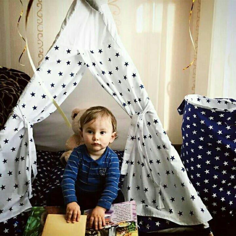 Teepee kids Childrens Teepee Tipi Kids Teepee PERSONALIZED Play Tent Playhouse Play Teepee Tipi Enfant Teepee Teepee Tent