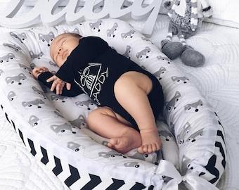 Babynest Two Sizes, Baby Nest, Baby Cocoon, Co Sleeper, Baby Nest Bed, Baby Sleeper, Snuggle Nest, Toddler Nest, Baby Nest Cosleeper