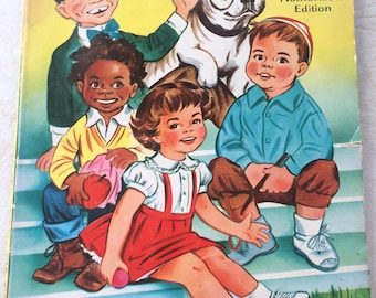 Little Rascals coloring book 1957