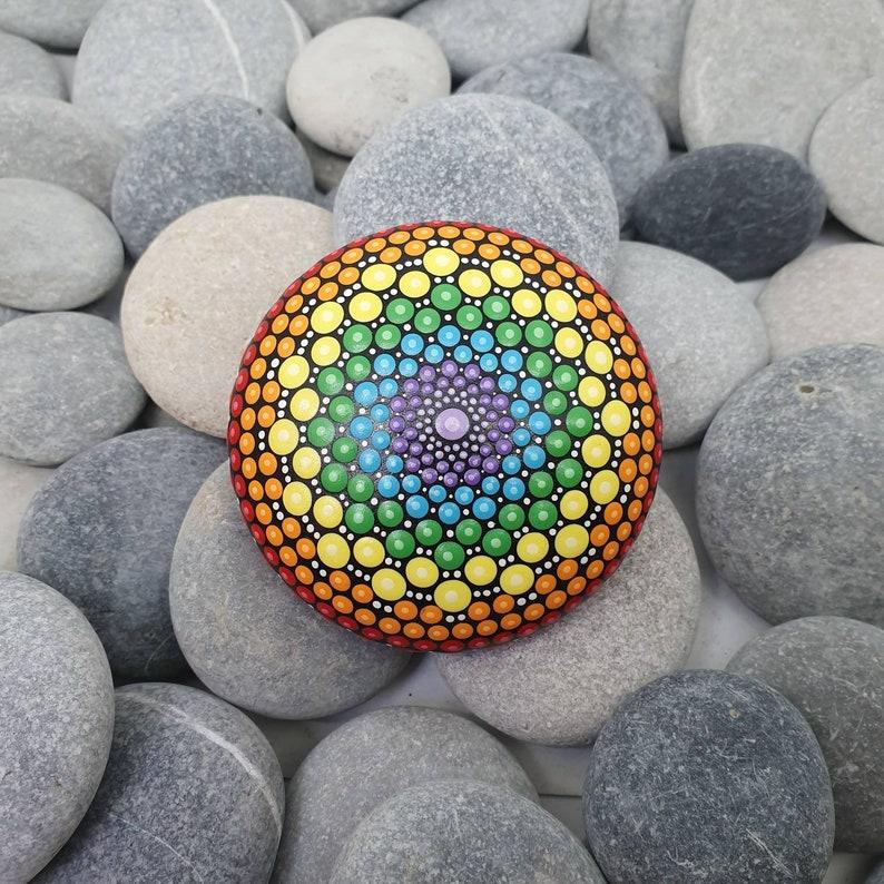Chakra Mandala Stone image 0