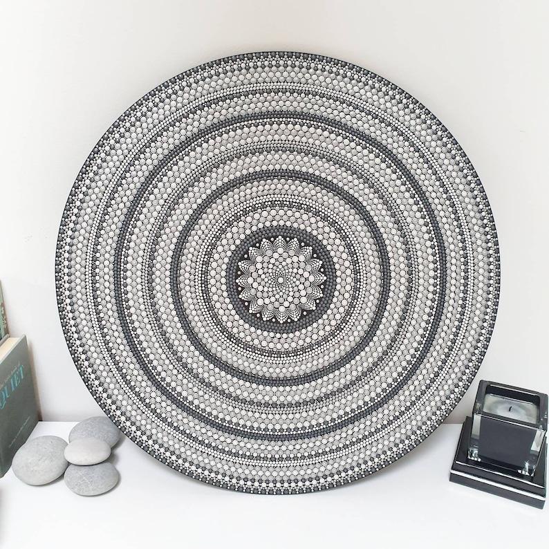 Unique Large 50cm Mandala Wall Art image 0