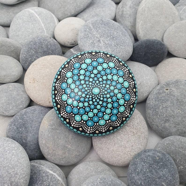 Mandala Stone Turquoise image 0