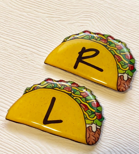 Taco Xray Markers Customized With Initials