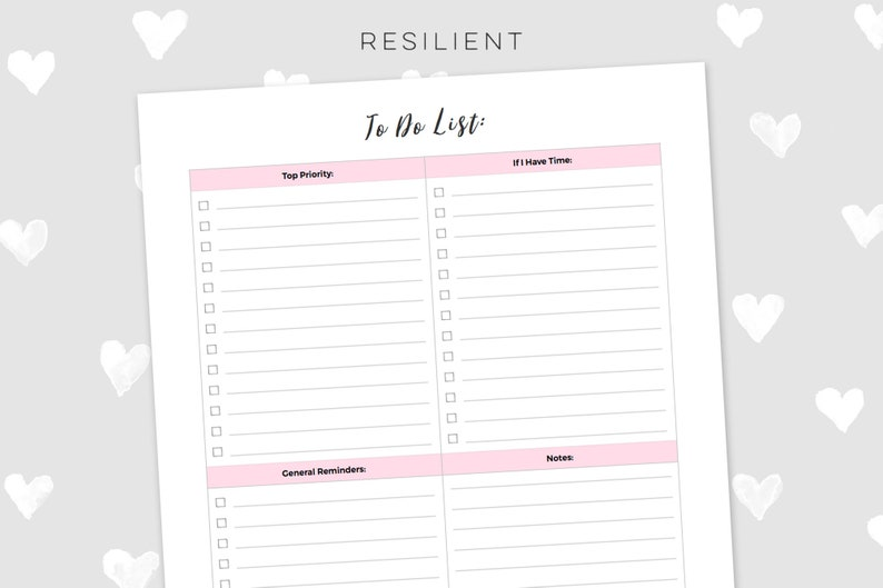 image relating to Daily to Do List Printable called Purple Each day Towards Do Checklist Printable - Electronic Toward Do Record Printable, Planner Printable, Bullet Magazine, US Letter Dimension or A4 - Instantaneous Down load