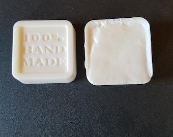 Handmade Coconut and Lime goatsmilk soap 2 bars per order