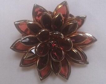 Vintage Avon Poinsettia Brooch