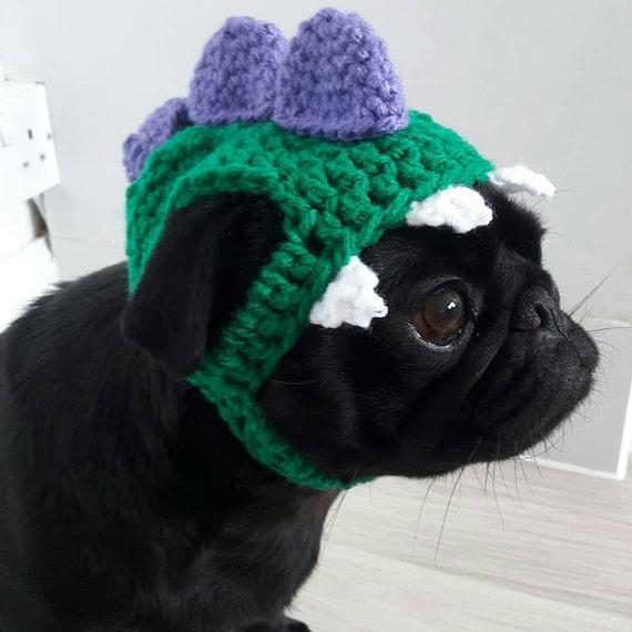 Crochet PomPom dog Hat; Crochet hat; pompom pug hat; hats for dogs; hats for pugs; crochet hat; pug hat; winter hat; crochet hat;dog fashion