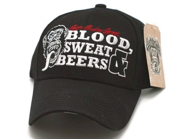 6d39ddaf1 Hat - Gas Monkey Garage Blood, Sweat & Beers Official Licensed Cap FREE  SHIPPING