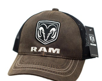 promo code d6f9b 496a9 Hat - RAM Trucks Wax Cloth Vented Trucker Style Mesh Cap FREE SHIPPING