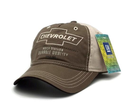 Chevrolet Distressed Hat Black