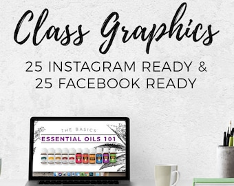 Class Graphics - Essential Oil 101 || Downloads