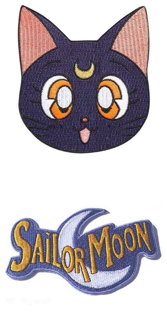 FLYING EYEBALL EMBROIDERED SEW ON IRON ON PATCH BY RETRO-A-GO-GO