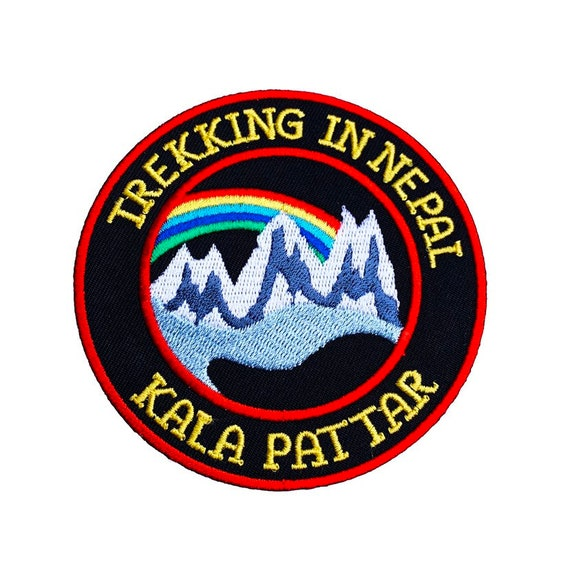 3 Inch Snowdon 3 Peaks Mountain Walking Souviner Iron or Sew On Patch Badge