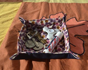 Fabric Tray for Small Items - 4 inches