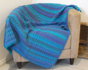 Peacock Throw Blanket / Rug