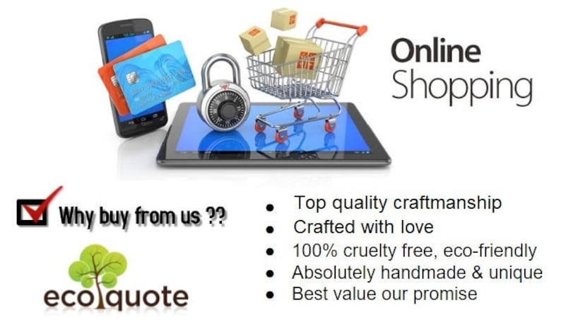 EcoQuote Tote bag handmade Cork Eco Friendly Material Great For Vegan Environment Concious Friends