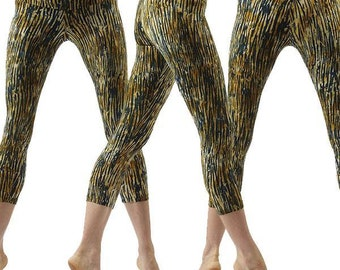 14211d1256473 Crop Leggings in Bamboo Forest