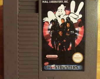 New Ghostbusters 2 NES Reproduction Game