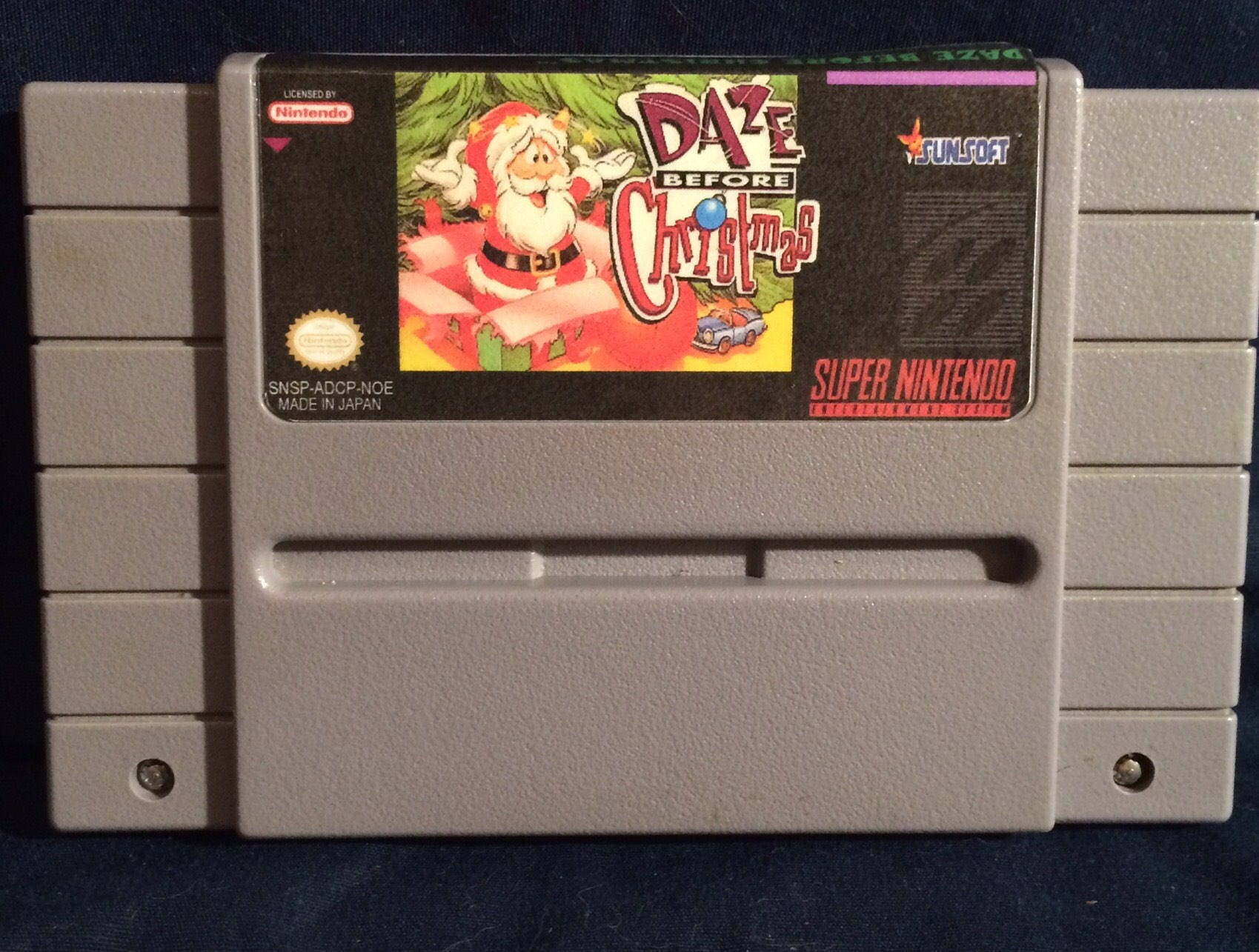 Daze Before Christmas SNES Reproduction NTSC Version | Etsy