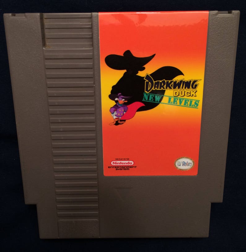 Darkwing Duck New Levels NES Game