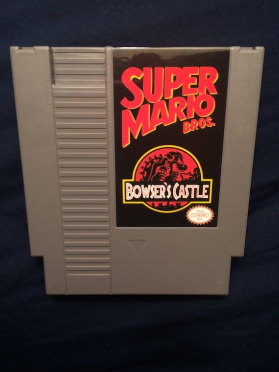 Super Mario Bros Bowser S Castle Nes Game