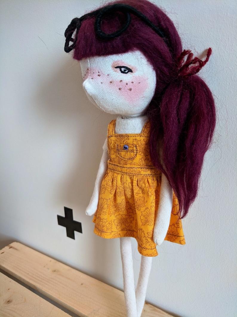 Abby handmade doll ooak doll art doll doll image 0