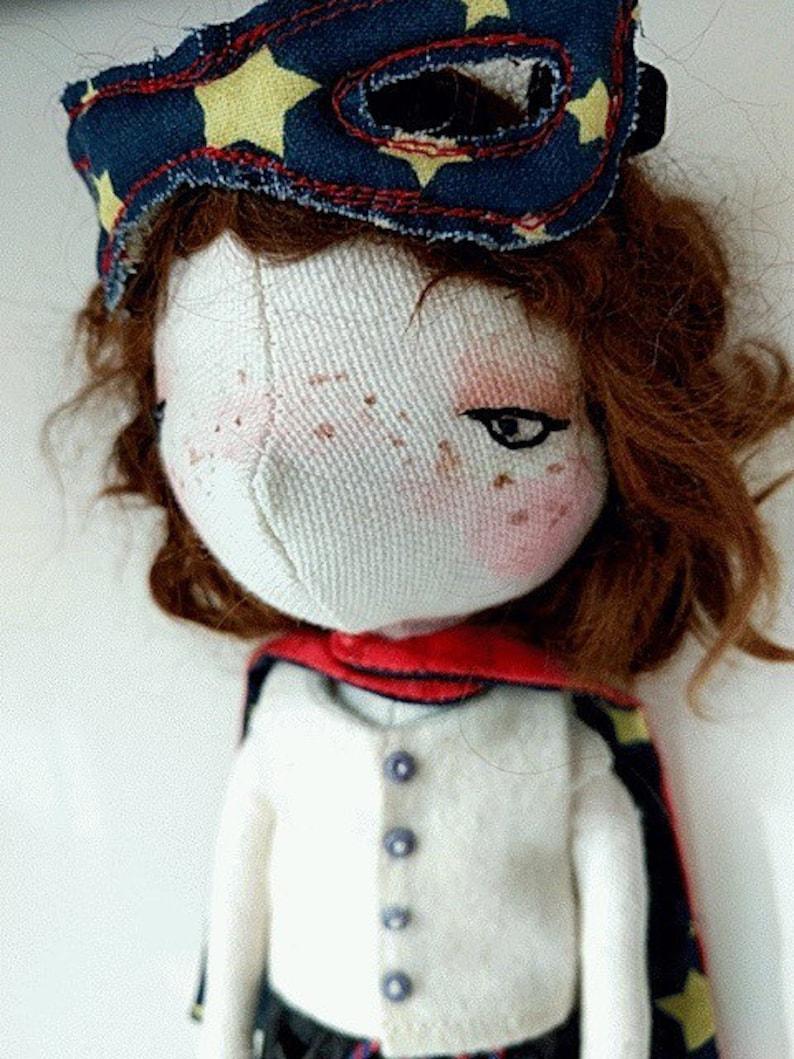 Macie handmade doll ooak doll art doll doll image 0