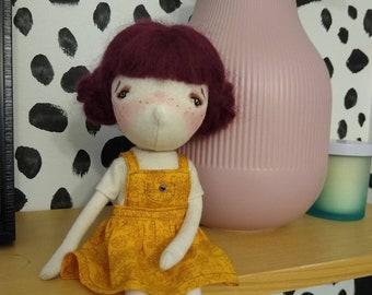 Abby- handmade doll, ooak doll, art doll, doll