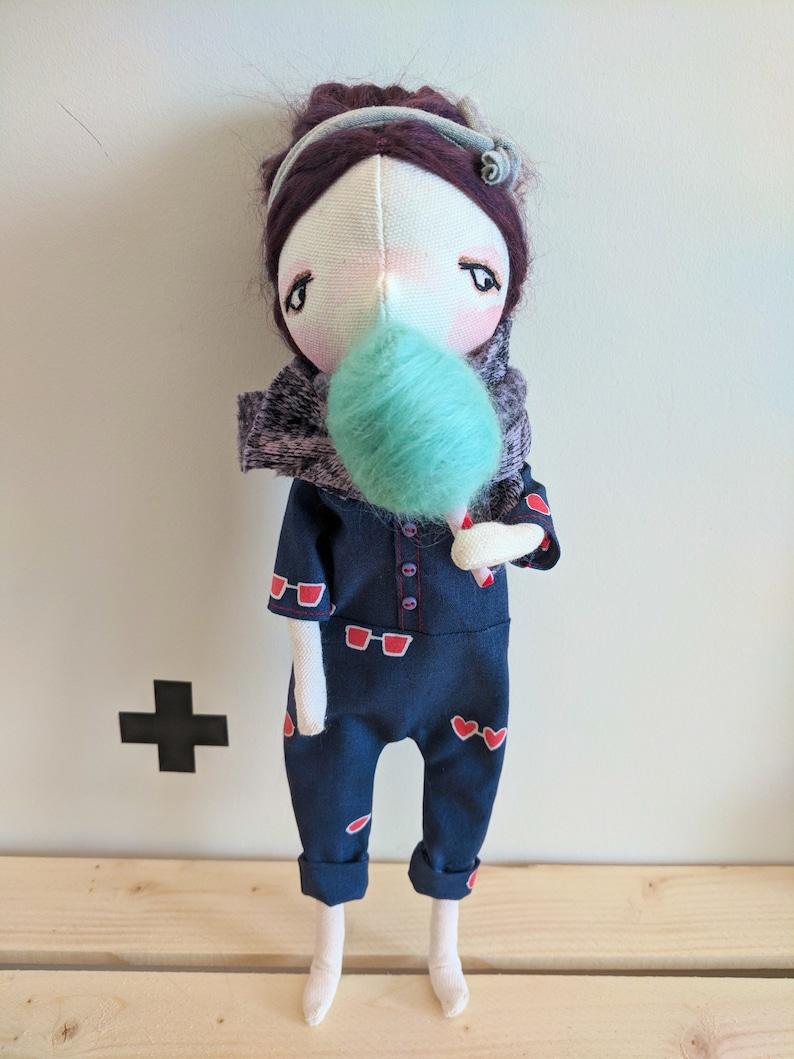 Addison handmade doll art doll ooak doll doll image 0