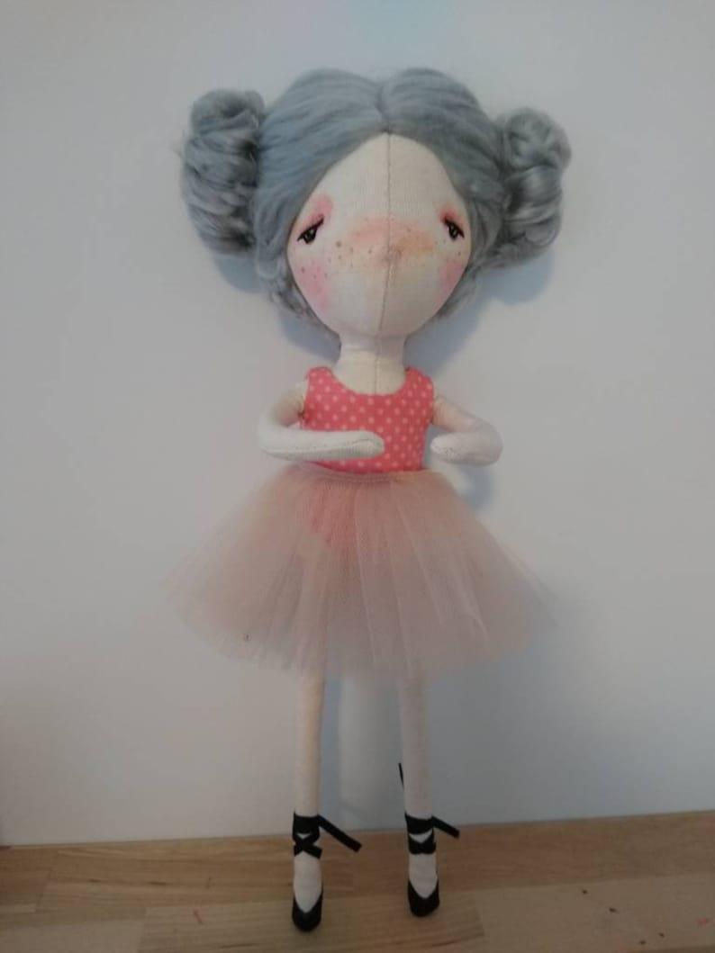 Jessica handmade doll ooak doll art doll doll image 0