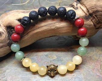Panther Bracelet | Rasta Bracelet | Rasta Everything
