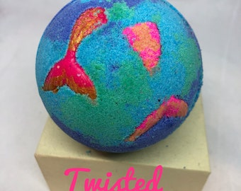 Twisted Mermaid Bath Bomb, 5 sizes available!