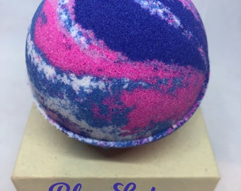 Blue Lotus Bath Bomb, 5 sizes available! Free Shipping