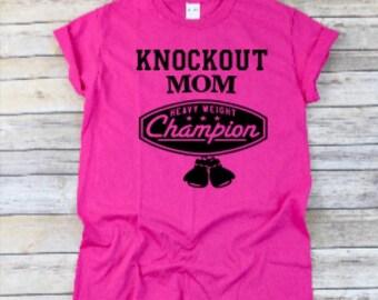 Knockout Mom Tee