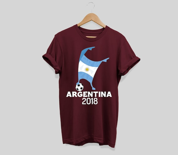 Argentina Shirt Flag 2018 Football Cup Soccer Dabbing World  10d886b28