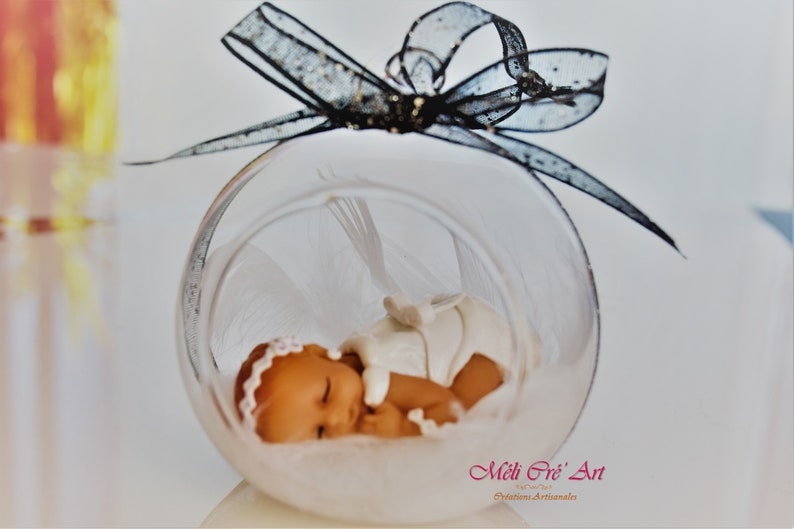baby shower baptism godparents birthday gift communion Table centerpiece ceremony baby fimo