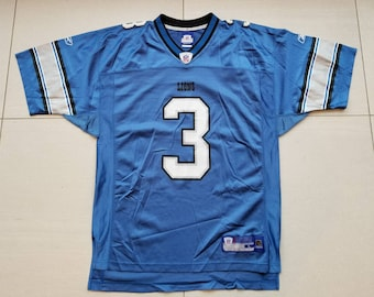 c8c34d2d88e Detroit Lions Reebok NFL Football Jersey #3 Joey Harrington Size Large Men's