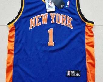 ef8d8a66dd1 Adidas New York Knicks NBA Basketball Jersey #1 Amare Stoudemire Size 50 XL  Mens
