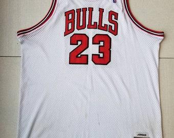 Chicago Bulls Mitchell And Ness NBA Basketball Jersey  23 Michael Jordan  Size 56 e9254945ee