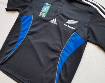 new arrival 584fe 0810d Adidas rugby shirt   Etsy