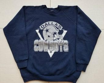 Dallas Cowboys Vintage 90s NFL Football Crewneck Sweatshirt Size XL Men s a6ae0809a