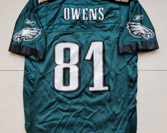 2e9f95399 Philadelphia Eagles Reebok Youth Football Jersey  81 Terrell Owens Size  Large