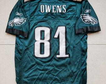 2fb77417efc Philadelphia Eagles Reebok Youth Football Jersey  81 Terrell Owens Size  Large